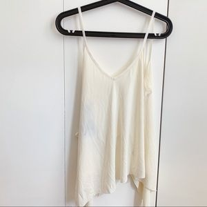 ANGL Tank Top in Cream